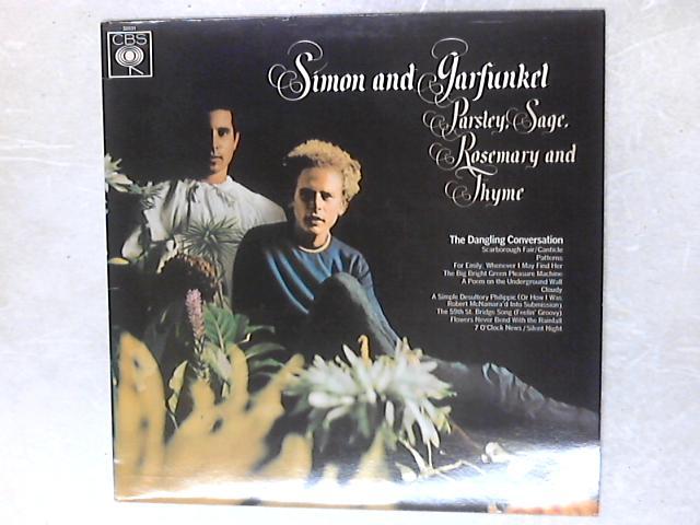 Parsley, Sage, Rosemary And Thyme LP By Simon & Garfunkel