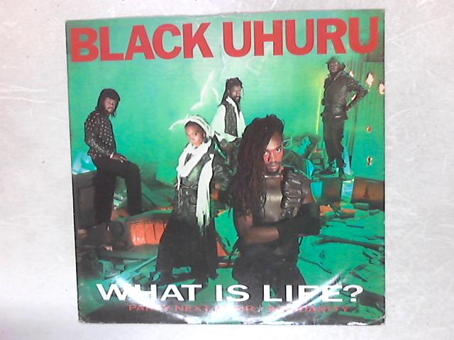 What Is Life? 12in Single By Black Uhuru