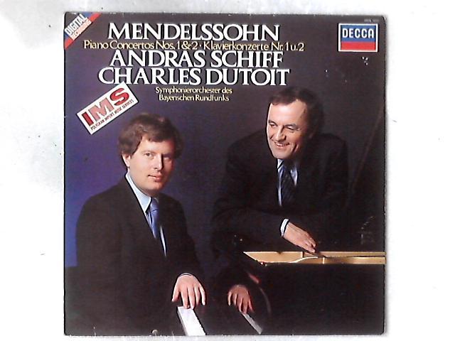 Piano Concertos Nos. 1&2 LP By Felix Mendelssohn-Bartholdy