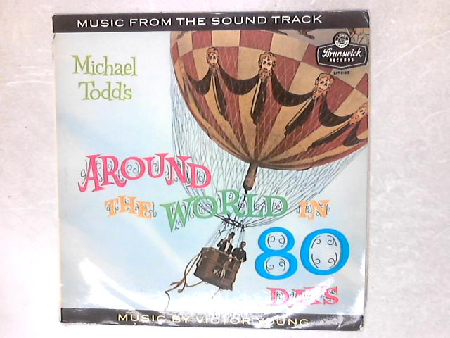 Michael Todd's Around The World In 80 Days OST LP By Victor Young