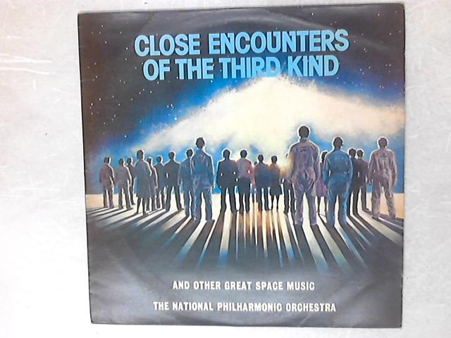 Close Encounters Of The Third Kind And Other Great Space Music LP By National Philharmonic Orchestra