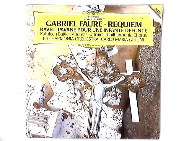 Requiem / Pavane Pour Une Infante Defunte LP By Gabriel Fauré
