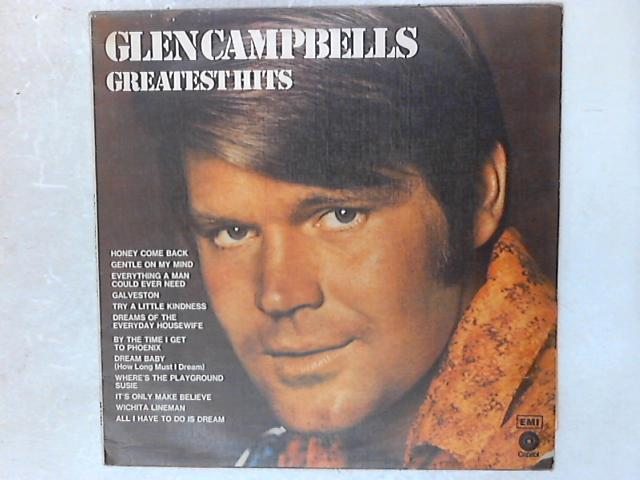 Glen Campbell's Greatest Hits LP By Glen Campbell
