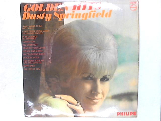 Golden Hits LP By Dusty Springfield