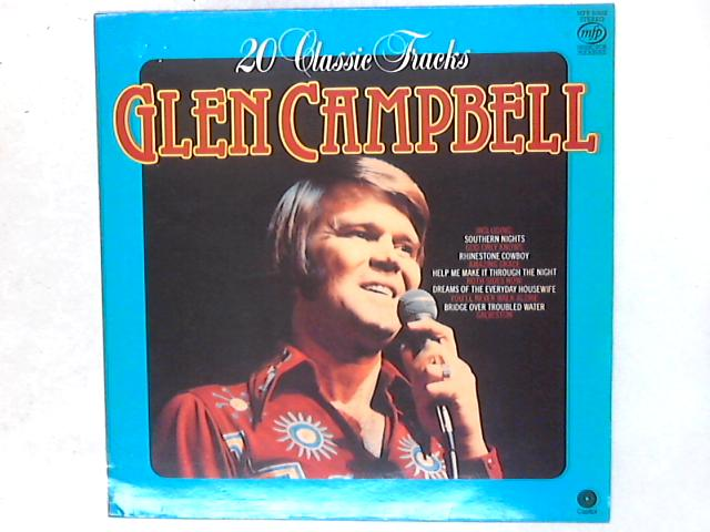 20 Classic Tracks LP By Glen Campbell
