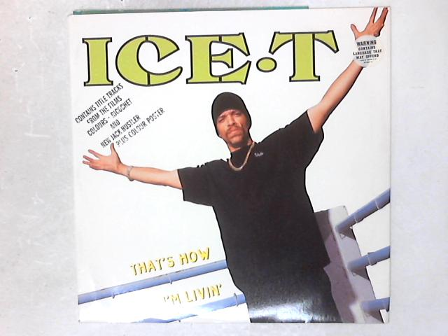 That's How I'm Livin' 12in Single By Ice-T
