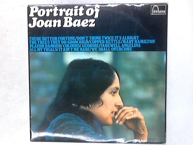 Portrait Of Joan Baez LP By Joan Baez