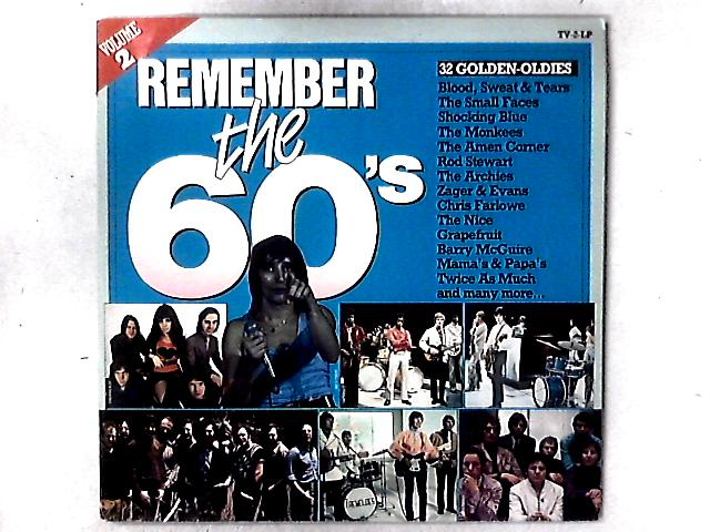 Remember The 60's (Volume 2) 2xLP COMP GATEFOLD By Various