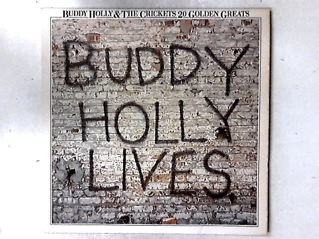 20 Golden Greats LP COMP By Buddy Holly