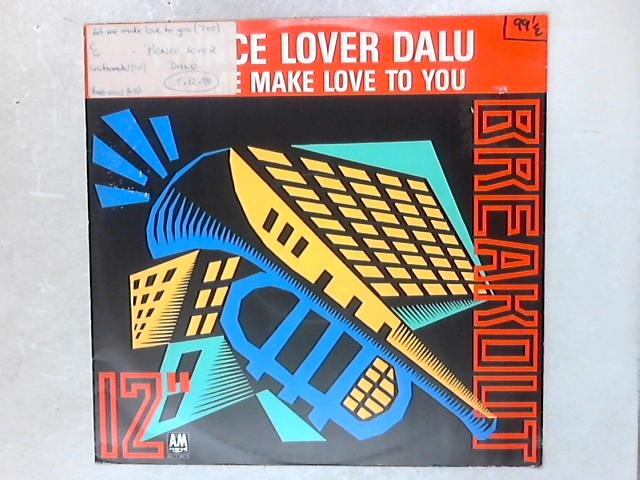 Let Me Make Love To You 12in Single By Prince Lover Dalu