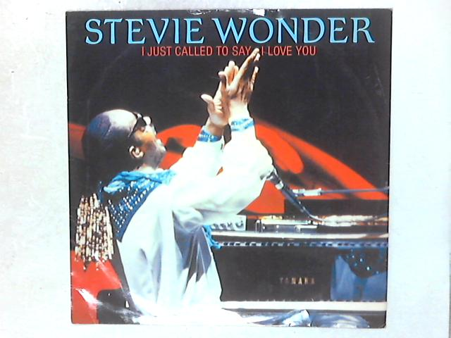 I Just Called To Say I Love You 12in Single By Stevie Wonder