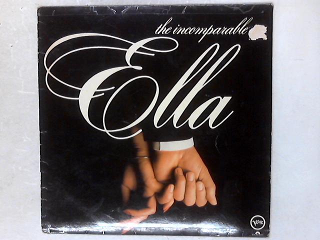 The Incomparable Ella LP By Ella Fitzgerald