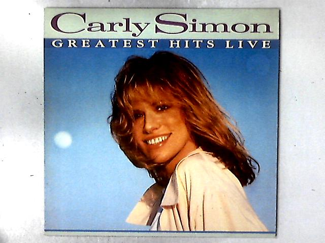 Greatest Hits Live LP By Carly Simon