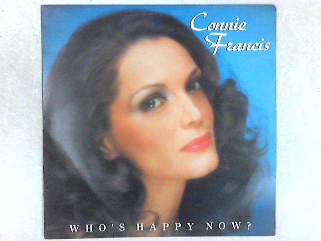 Who's Happy Now? LP By Connie Francis