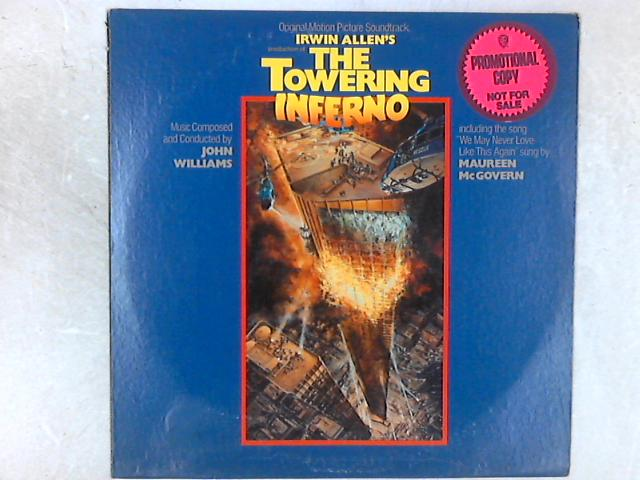 Irwin Allen's The Towering Inferno OST PROMO LP By John Williams