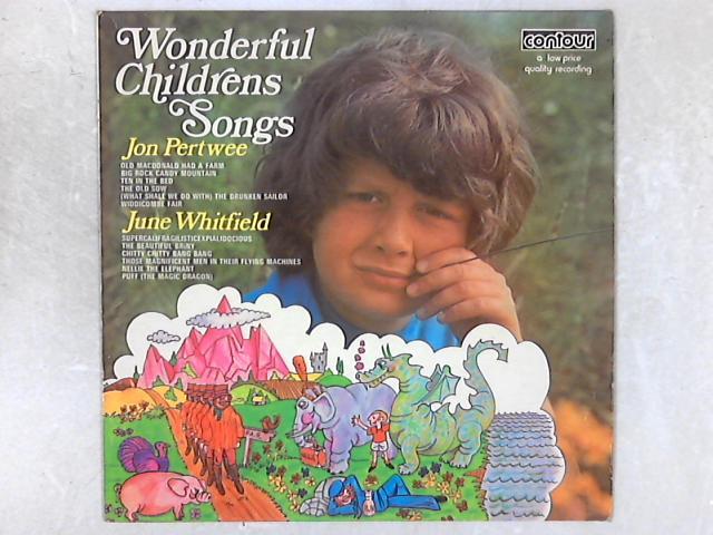 Wonderful Children's Songs LP By Jon Pertwee & June Whitfield