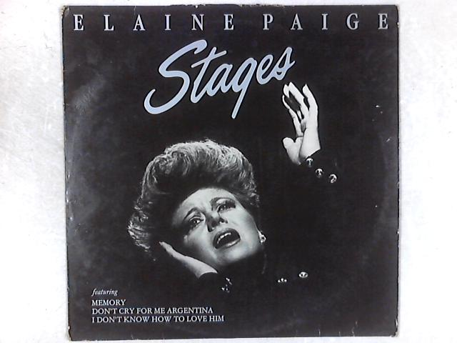 Stages LP By Elaine Paige