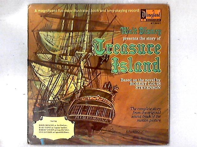 Walt Disney Presents The Story Of Treasure Island LP GATEFOLD By Dal McKennon