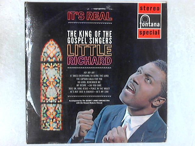 It's Real: The King Of The Gospel Singers LP By Little Richard