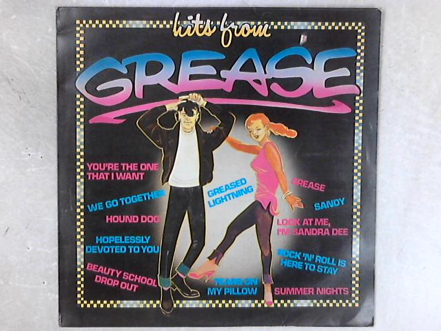 Hits From Grease LP By The Brilliant Teens