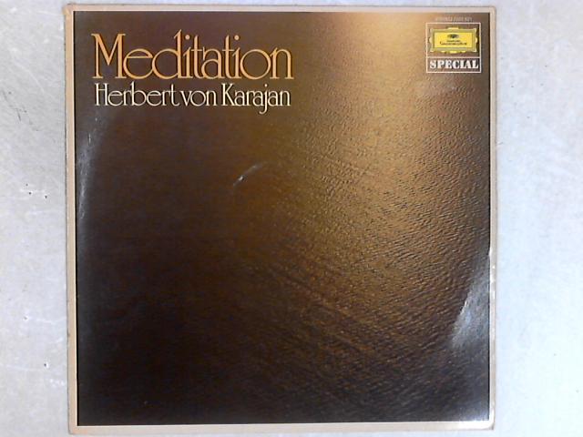 Meditation - Musik Zum Träumen LP By Herbert von Karajan