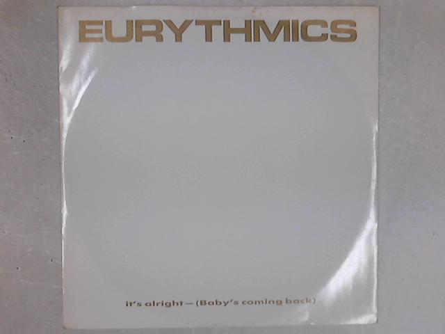 It's Alright (Baby's Coming Back) 12in Single By Eurythmics