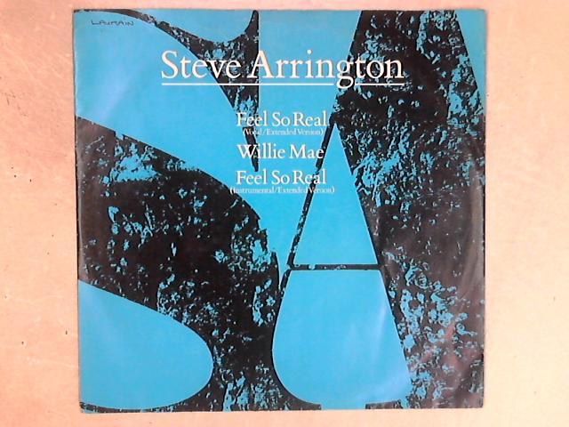 Feel So Real 12in Single By Steve Arrington