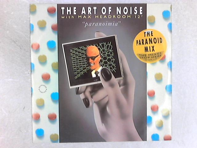 Paranoimia (The Paranoid Mix) 12in Single by The Art Of Noise