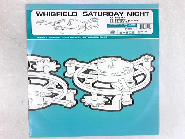 Saturday Night 12in Single by Whigfield