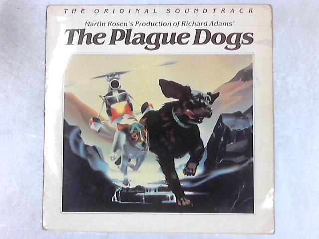 The Plague Dogs OST Autographed LP By Patrick Gleeson