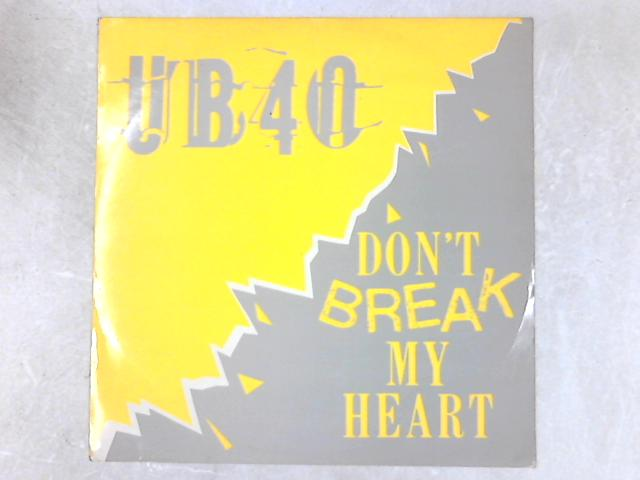 Don't Break My Heart 12in Single By UB40