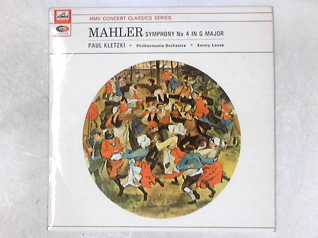 Symphony No. 4 In G LP by Gustav Mahler