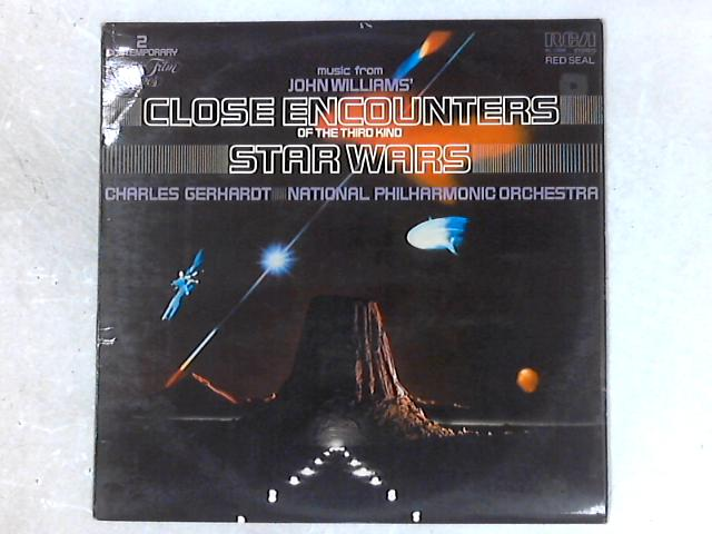 Music From John Williams' Close Encounters Of The Third Kind / Star Wars LP By Charles Gerhardt