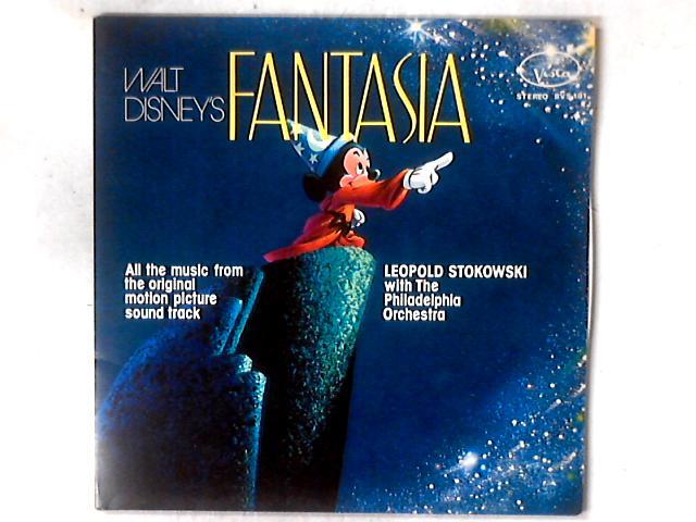 Walt Disney's Fantasia 2xLP GATEFOLD by Leopold Stokowski