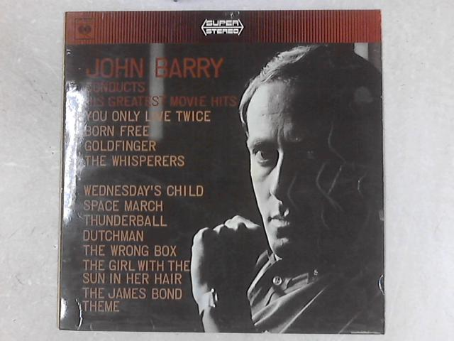 John Barry Conducts His Greatest Movie Hits LP by John Barry
