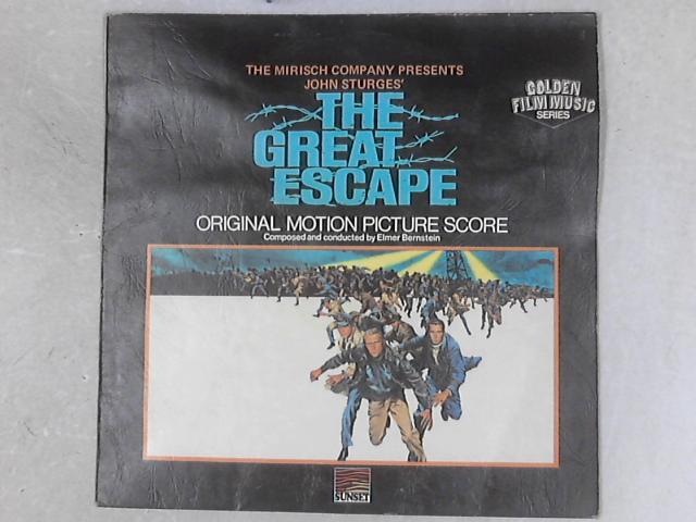 The Great Escape OST LP by Elmer Bernstein
