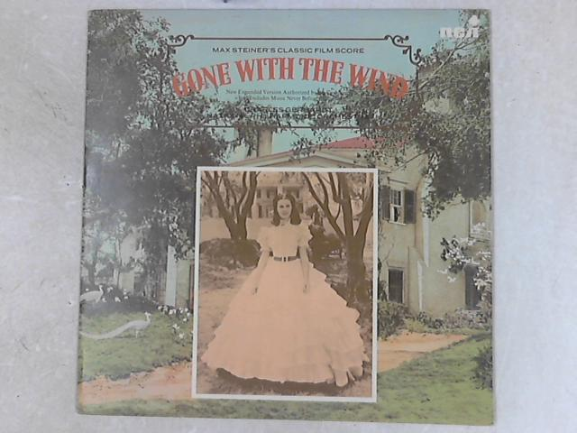 """Max Steiner's Classic Film Score """"Gone With The Wind"""" LP by Max Steiner"""