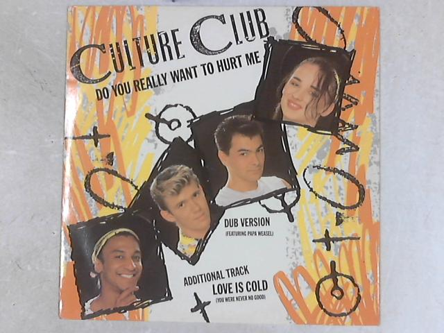 Do You Really Want To Hurt Me 12in Single by Culture Club