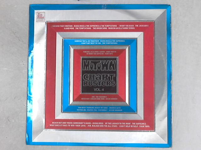 Motown Chartbusters Vol. 4 COMP LP by Various