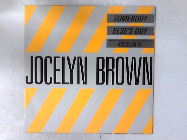 Somebody Else's Guy 12in By Jocelyn Brown