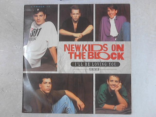 I'll Be Loving You (Forever) 12in Single By New Kids On The Block