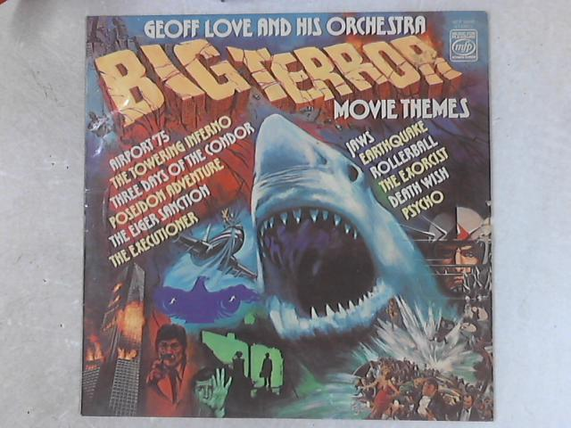 Big Terror Movie Themes LP by Geoff Love & His Orchestra