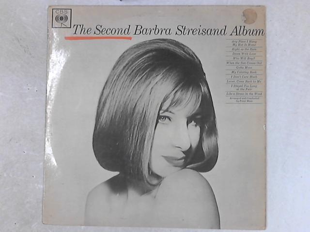The Second Barbra Streisand Album LP by Barbra Streisand