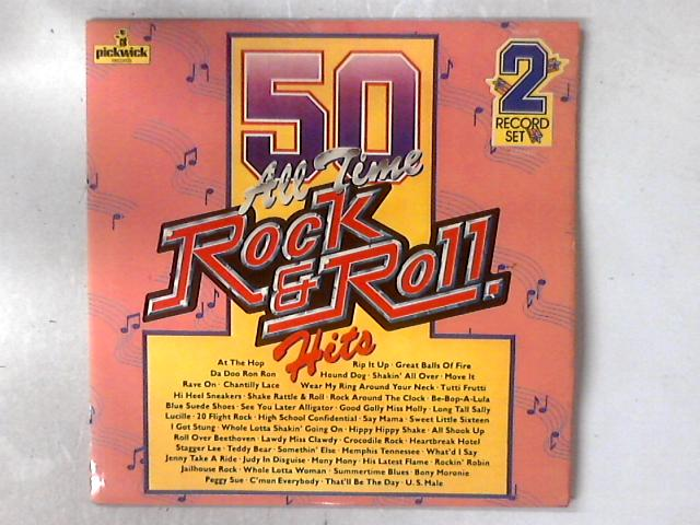 50 All Time Rock & Roll Hits 2xLP COMP GATEFOLD by The Rock And Rollers