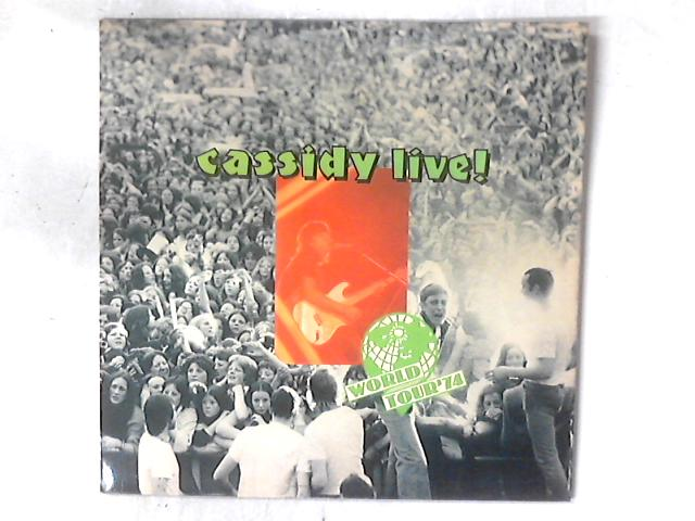 Cassidy Live! LP by David Cassidy