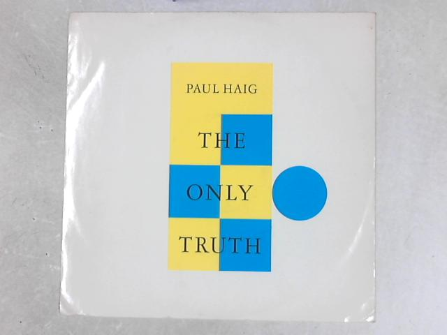 The Only Truth 12in Single By Paul Haig