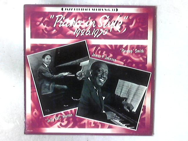 Piano In Style (1926-1930) LP COMP By Jelly Roll Morton