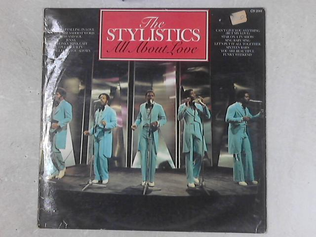 All About Love LP By The Stylistics