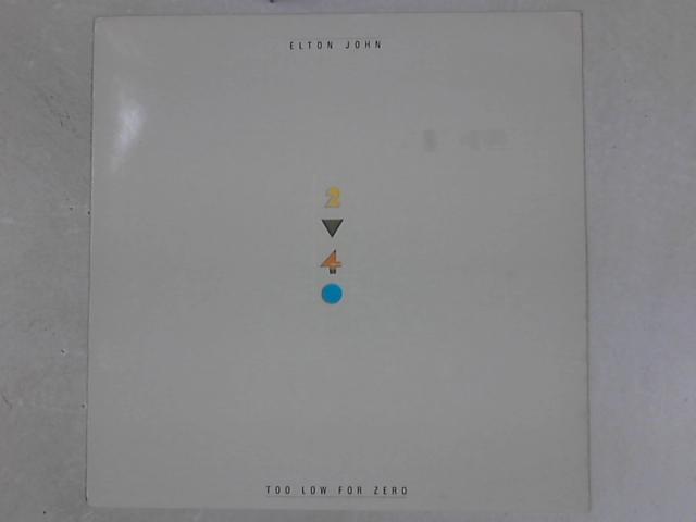 Too Low For Zero LP By Elton John
