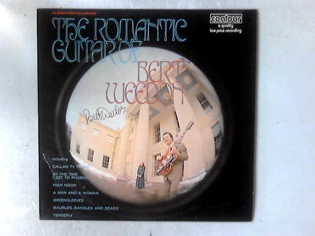 The Romantic Guitar Of Bert Weedon LP SIGNED COPY By Bert Weedon